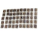10pcs 16x13mm Mini Scharnier Steckverbinder Butt Kugellager Türschnarnier golden