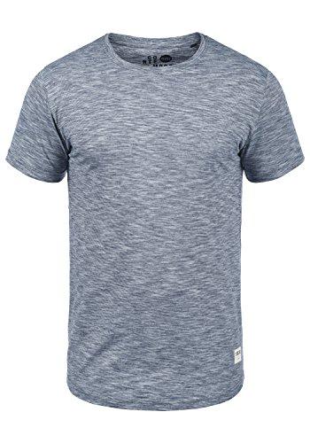 !Solid Figos Herren T-Shirt Kurzarm Shirt mit Rundhalsausschnitt aus 100{d9ae8429da8c5f1e56d6b08a0dce01093a9e6e8962dc2f17ab4646c0802d3520} Baumwolle, Größe:L, Farbe:Insignia Blue (1991)
