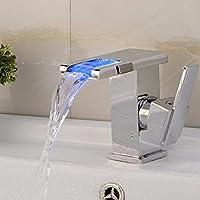 Rubinetti cascata led: rubinetteria contemporanea per bagni di ...
