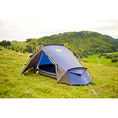 Coleman Cobra 2 Backpacking Tent Two Person ...  sc 1 st  UK Sports Outdoors C&ing Hiking Jogging Gym fitness wear Yoga & Coleman Cobra 2 Backpacking Tent Two Person (Blue/Grey ...