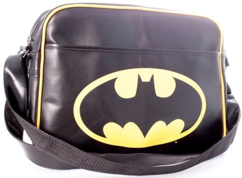 Batman - Borsa a tracolla di Batman, colore: Nero