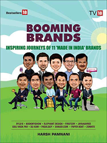 BOOMING BRANDS– INSPIRING JOURNEYS OF 11'MADE IN INDIA' BRANDS (English Edition)
