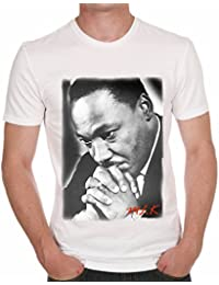 Martin Luther King Prying Men's T-shirt One in the City