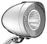 UNION LED Batterie Retro Scheinwerfer chrom Optik 20 Lux