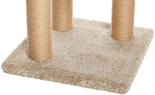 Amazon Basics Cat Tree with Scratching Posts - Large 4