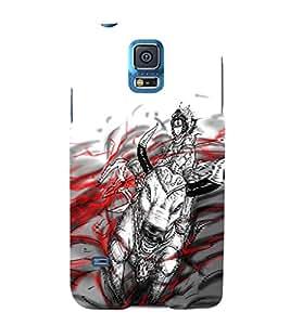 EPICCASE Shiva lord Mobile Back Case Cover For Samsung Galaxy S5 (Designer Case)