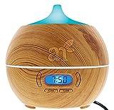 ArtNaturals Diffuser für ätherische Öle Luftbefeuchter - mit Bluetooth Lautsprecher und Alarm -...