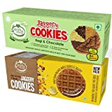 #4: Early Foods - Assorted Pack of 2 - Organic Dry Fruit & Ragi Choco Jaggery Cookies X 2