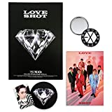 EXO 5th Repackage Album - LOVE SHOT [ LOVE ver. ] CD + Booklet + Photocard + FOLDED POSTER + FREE GIFT / K-pop Sealed