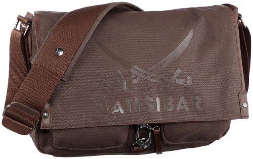 Sansibar Mistral B-310 MI 15, Borsa unisex adulto Marrone/Espresso