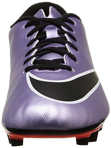 Nike Mercurial Vortex 2 Fg, Chaussures de football homme Violet / Noir / Jaune / Blanc (Urbn Lilas / Blk-BRGHT Gest-Blanc)