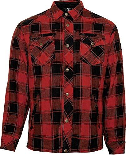 Price comparison product image Bores Lumberjack Jacken-Hemd Red / Black-2XL