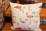Kamaca Erstklassige Serie Miami in Pink - mit Tollen Flamingos - Ein Besonderes Schmuckstück in Jedem Raum - zur Auswahl Stehen Tischläufer und Kissenbezüge - Neu Shop (Tischläufer 40 x 150 cm)