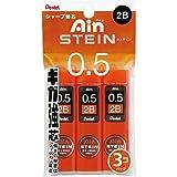 Pentel Ain Stein Druckbleistift Blei, 0,5mm 2B, 40Minen X 3Pack (xc2752b-3p)