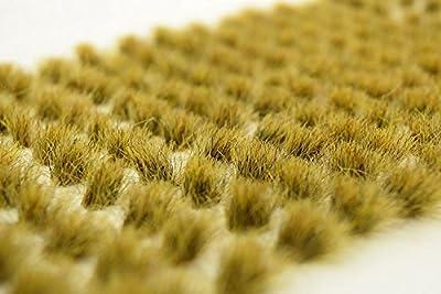 wws 100 Touffes Autocollantes d'Herbe Statique Marécage DE 10 mm par