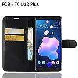 NEWZEROL for HTC U12 Plus Phone Case PU Leather Flip Case