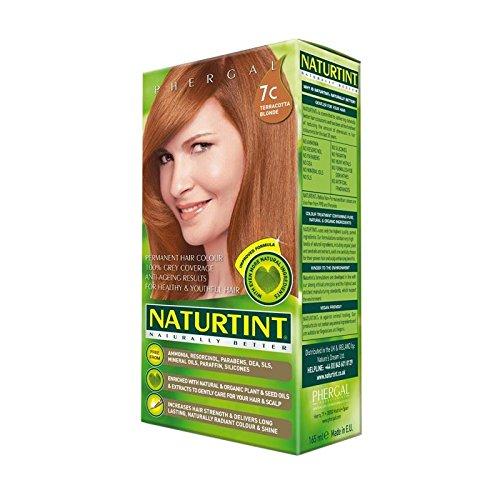 Cheveux Blonds Naturtint Couleur 7C En Terre Cuite