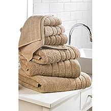 7 piezas de lujo de algodón egipcio toalla bala ...