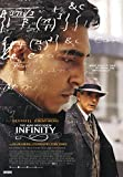 The Man Who Knew Infinity Movie Poster 70 X 45 cm
