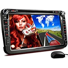 "XM-2DN802 radio de coche adecuado para VW ISKODA I SEAT I con GPS I NAVIGATION mapas de Europa I Bluetooth I 8 "" 20cm pantalla táctil I DVD CD I puerto USB I tarjeta de memoria Micro SD ranura I 2 DIN"