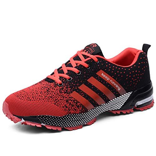 UBFEN Scarpe da Corsa Uomo Scarpe per Correre Running Sportive Ginnastica  Sneakers Fitness Training Trekking Scarpe 1ddd7fc1ffc