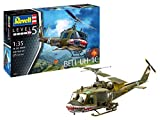 Revell- Bell UH-1C Aeromodello in Kit da Montaggio, Multicolore, 04960