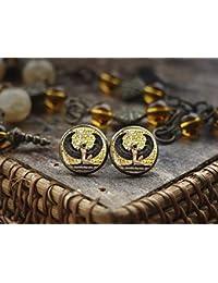914fda4f6f0f YUJUEE Aretes Mujer Vintage Retro Caída Geométrica Étnicas Pendientes Oro  Plata Egipto Encanto Joyas · EUR 13