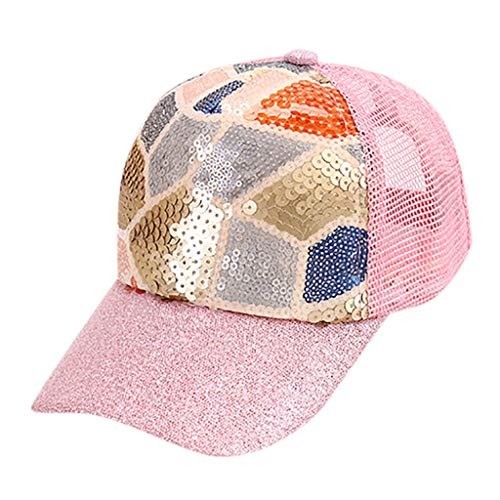 Children Baseball Hut Mütze Mesh Cap Geometric Pattern Adjustable Outdoor Sequins Reticular Hut Cartoon hip -hop Kinder Sun Shade Floral Hütte net Kappe Unisex Sport Kids Sun protec ()