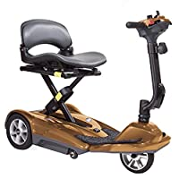 Ability Superstore Lightweight Curlew Automatic Folding Scooter