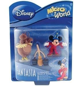 Disney Fantasia MicroWorld Figures - MICKEY HIPPO BROOMSTICK