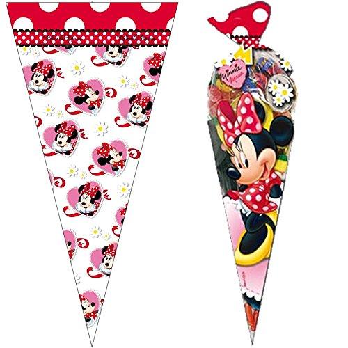 6 Partytüten * MINNIE MOUSE * von Disney // CONO // Party Kinder Party Mottoparty Kindergeburtstag Mitgebsel Geschenktüten Tüten (Party-tüten Minnie Mouse)