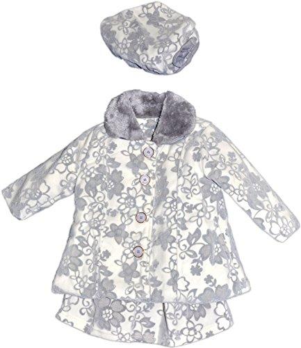 Chicaprie - Conjunto - para bebé niña bcgris 12 Meses d1943514ac8