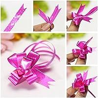 Preisvergleich für Bazaar 10pcs Dekoration Band Schmetterlings Geschenk Verpackung ziehen Bögen Hochzeiten Geburtstage Geschenk
