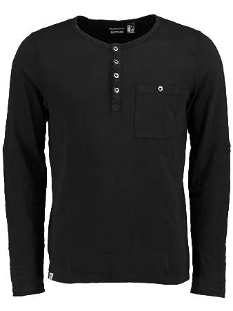 O 'Neill Originals Henley Men's Long-Sleeved T-shirt black ...