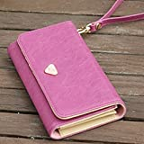 Women's Fashion Envelope Wallet Purse Phone Case for iPhone 4 4S 5 5S