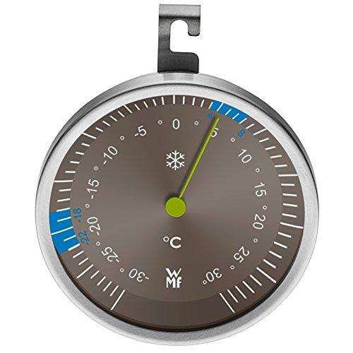 WMF Kühl- und Gefrierschrank Thermometer Scala Cromargan Edelstahl rostfrei 18/10 spülmaschinengeeignet