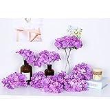 künstlichen Blumen 10 Hortensie Seide tafelaufsätze und Arrangement Real Touch Blumen für Home Decor Hochzeit Parteien