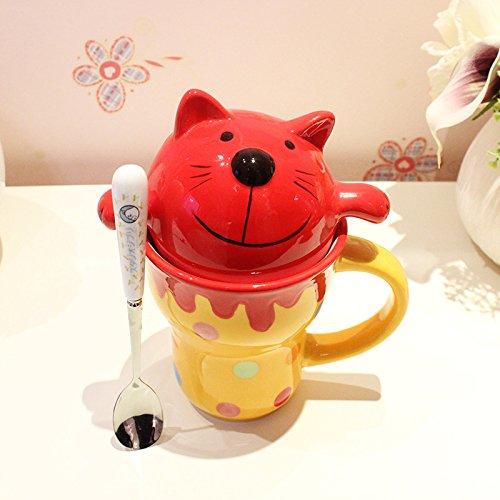 Dana Carrie Schöne's Animal Wasser Schüssel Keramik Tasse für Tasse Paar Kinder Milch Cup J