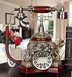 Europäischen klassischen Telefonieren zu Display Innovative Antik Telefon Retro Alten europäischen Telefon Set (Classical wood (elephant))