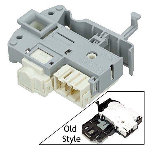 spares2go Tür Schloss Griff Interlock Schalter für Indesit Waschmaschine Fitment List A