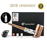 Kamry K1000 Plus E Pipe, 1100mAh, Electronic Cigarette Starter Kit with Rechargeable Micro USB Charging Cable, Refillable Airflow Adjustable, Gift Package, No Nicotine, No E Liquid 9