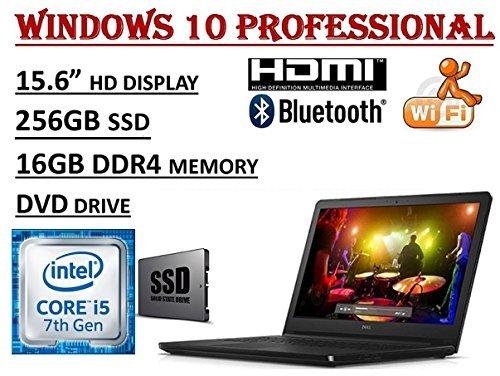 Dell Inspiron 15 5566 Laptop Windows 10 16gb Ram 256gb Hdd Intel