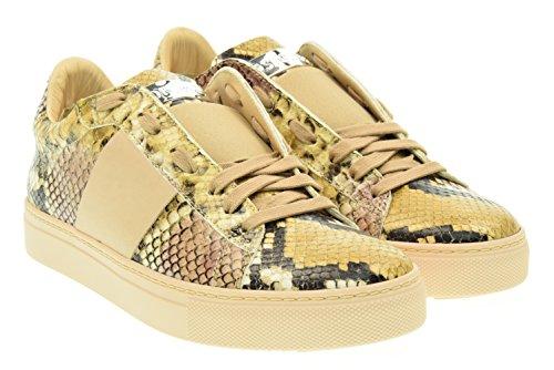 STOKTON donna sneakers basse 651-D Cipria 40 Cipria