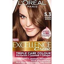 L'Oreal Paris Coloración Permanente Excellence Creme 5.3 Chocolate Praline - 1 Coloración Permanente