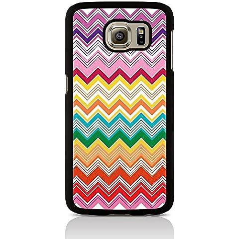 Chiamata Candy Chevron Scontro alla moda custodia per Samsung Galaxy S6 edge Plus - multi-colore