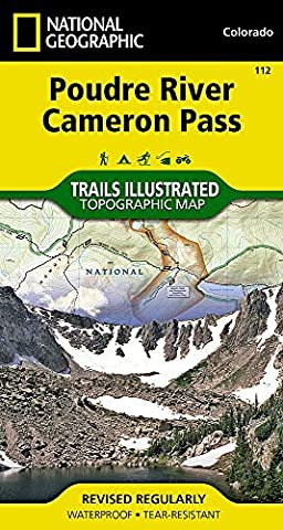 Poudre River, Cameron Pass (National Geographic Trails Illustrated Map) by National Geographic Maps - Trails Illustrated (2007-01-01)