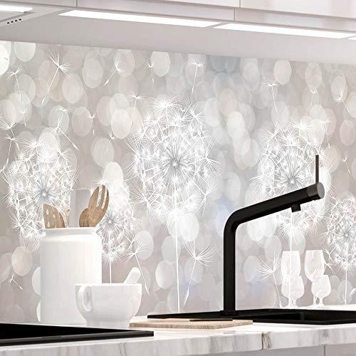 StickerProfis Küchenrückwand selbstklebend - SOMMERWIND - 1.5mm, Versteift, alle Untergründe, Hart PET Material, Premium 60 x 400cm
