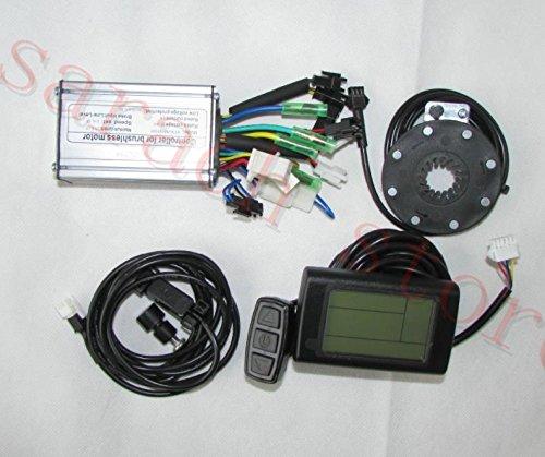 350W 24V Kit de conversión de bicicletas eléctricas Controlador de motor eléctrico Kit de conversión de bicicletas eléctricas