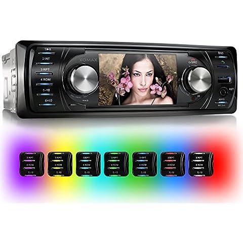 XOMAX XM-VRSU311BT Autoradio / Moniceiver con 3