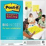 Post-it Super Sticky BN22-EU - Notas formato grande, 4XL, 30 hojas, 55.8 cm x 55.8 cm